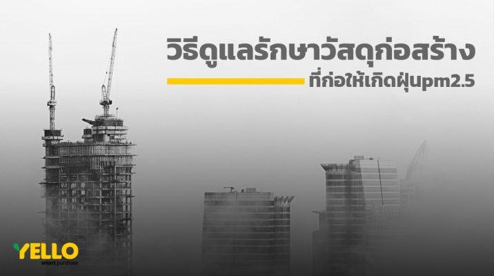 วัสดุก่อสร้าง-PM25