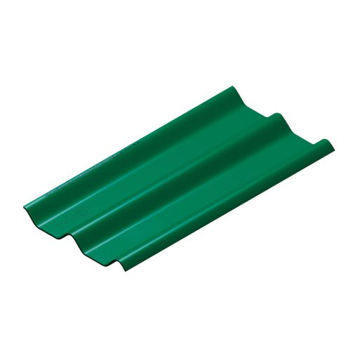 หลังคาไฟเบอร์ซีเมนต์ สีเขียว