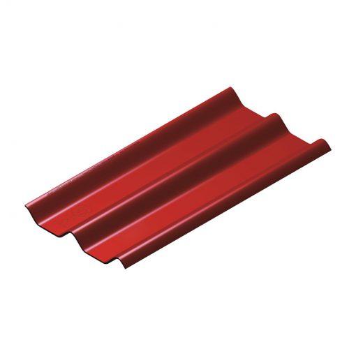 หลังคาไฟเบอร์ซีเมนต์ สีแดง